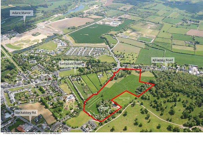 7 ha (17.29 acres) Development Land, Adare