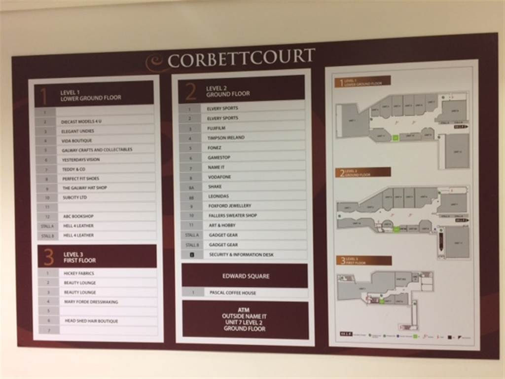 Unit 12, Level 1, Corbett Court Shopping Centre